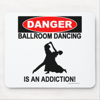 Ballroom Addictions Mousepad