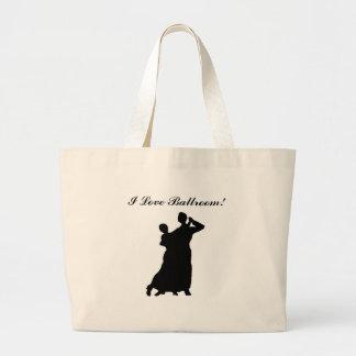 """Ballroom Couple"" Personalized Tote Bag"