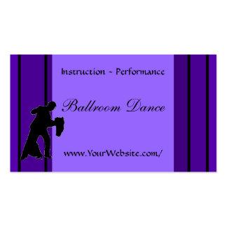 Ballroom Dance - business card