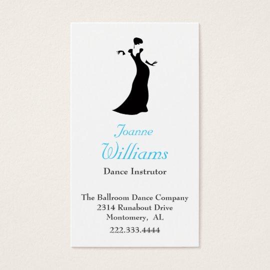 Ballroom dance Business Card