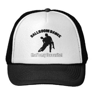 ballroom dance designs trucker hat