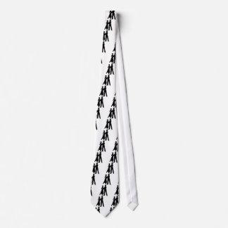 Ballroom Dance Neck Tie