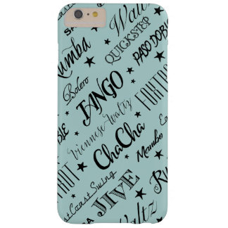 Ballroom Dance Pattern | Choose Your Color Barely There iPhone 6 Plus Case