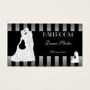 Ballroom Dance Studio Dancing Lessons 3 Business Card at Zazzle