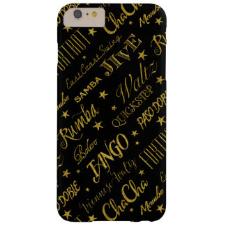 Ballroom Dance Styles All Over Pattern Barely There iPhone 6 Plus Case