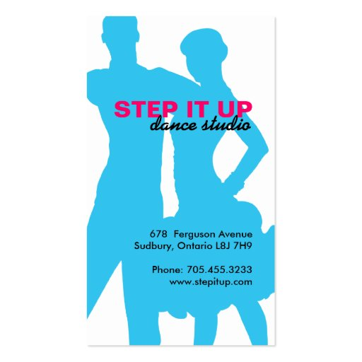 Ballroom Dancer Business Card