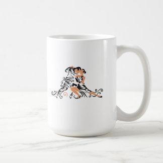 ballroom dancers coffee mug