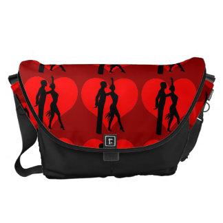 ballroom dancers courier bag