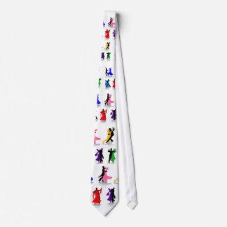 Ballroom Dancers in Color 2 Necktie
