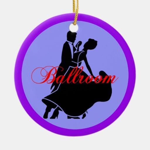 Ballroom dancers ornaments