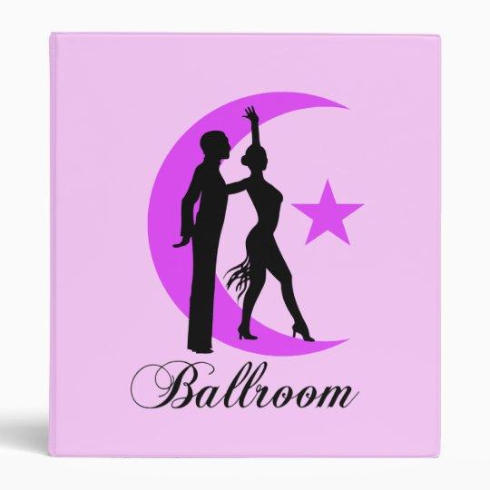 Ballroom dancing 3 ring binder