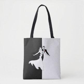 Ballroom Dancing All-Over-Print Tote Bag