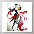 BALLROOM DANCING ART DECO 1 POSTER