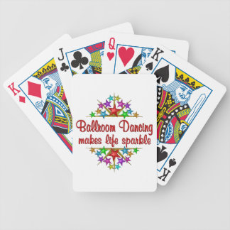 Ballroom Dancing Bicycle Playing Cards