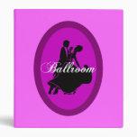 Ballroom dancing binder