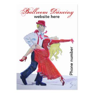 Ballroom Dancing Business Cards