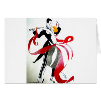 BALLROOM DANCING GREETING CARDS