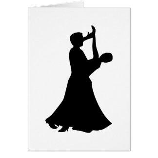 Ballroom dancing cards