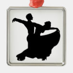 Ballroom Dancing Christmas Ornaments
