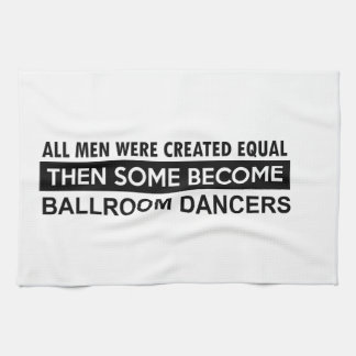 Ballroom dancing designs hand towels