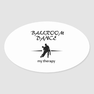 Ballroom dancing designs sticker