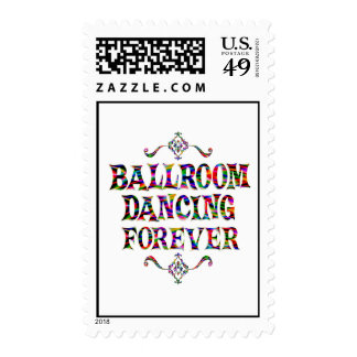 Ballroom Dancing Forever Postage
