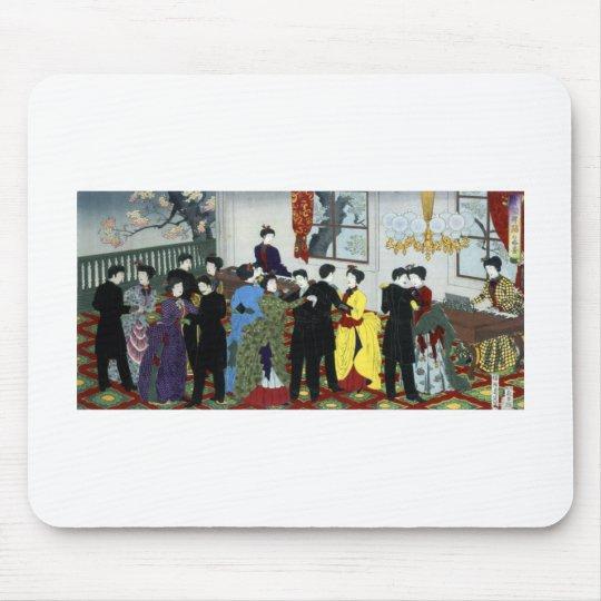 Ballroom dancing in Tokyo circa 1888 Mouse Pad