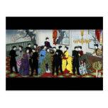 Ballroom dancing in Tokyo circa 1888 Post Card