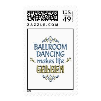 Ballroom Dancing is Golden Postage