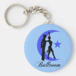 Ballroom dancing key chains