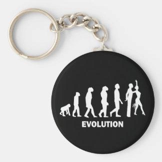 Ballroom dancing key chain