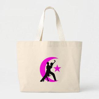 Ballroom Dancing Large Tote Bag