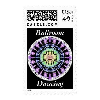 Ballroom Dancing Mandala 1 Stamps
