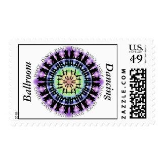 Ballroom Dancing Mandala 1 Stamp