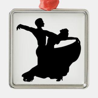 Ballroom Dancing Metal Ornament