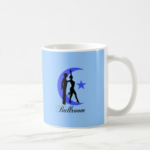 Ballroom dancing coffee mugs