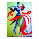 BALLROOM DANCING POST CARDS