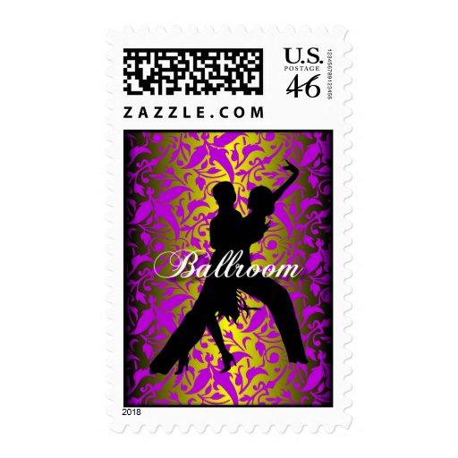 Ballroom Dancing Postage