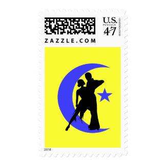 Ballroom Dancing Postage Stamp