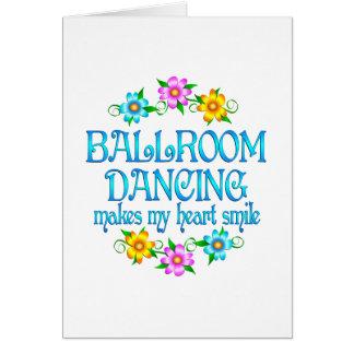Ballroom Dancing Smiles Greeting Cards