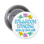 Ballroom Dancing Smiles Pinback Buttons