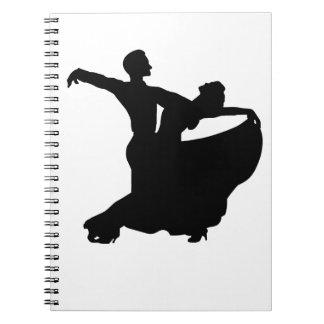 Ballroom Dancing Spiral Notebook
