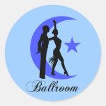 Ballroom dancing sticker