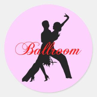 Ballroom dancing stickers
