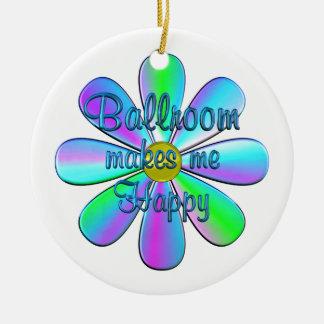 Ballroom Happy Ceramic Ornament