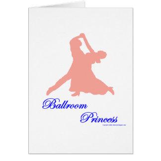 Ballroom Princess Notecards Greeting Card