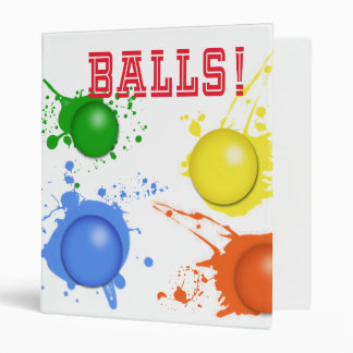 Balls! Binder