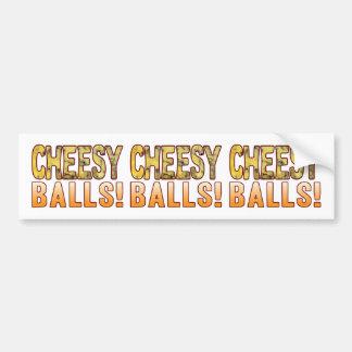 Balls Blue Cheese Bumper Sticker