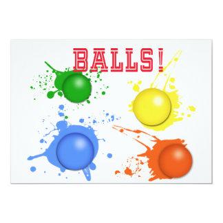 Balls! Card