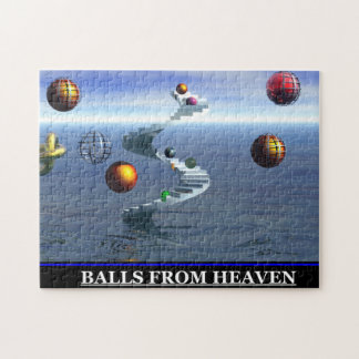 Balls from Heaven Vintage jigsaw Puzzle